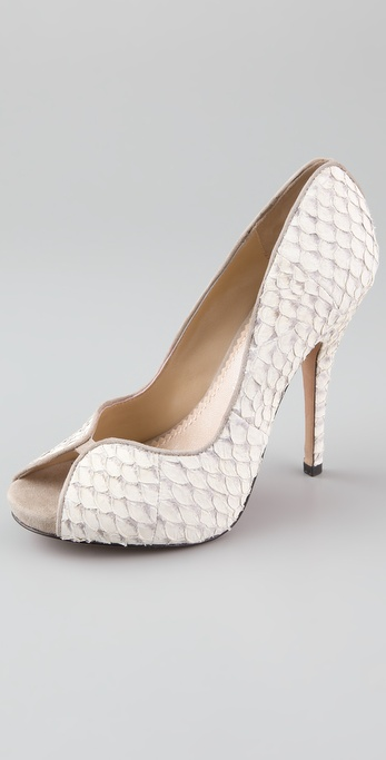 Jean-Michel Cazabat Kari Fish Scale Pumps