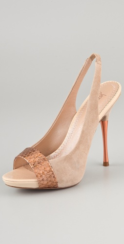 Jean-Michel Cazabat Oriana Sling Back Pumps