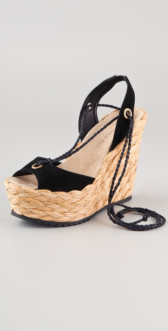 Jean-Michel Cazabat Halima Ankle Wrap Sandals