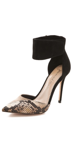 Jean-Michel Cazabat Suede Elisa Pumps