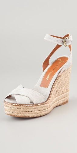 Jean-Michel Cazabat Ashanti Platform Wedge Sandals