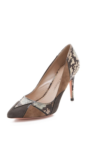 Jean-Michel Cazabat Esmeralda Colorblock Pumps