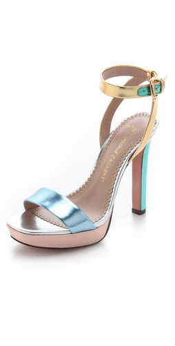 Jean-Michel Cazabat Holiday Platform Sandals at Shopbop / East Dane