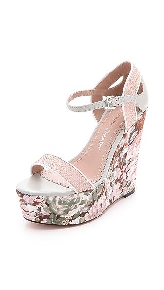 Jean-Michel Cazabat Tani Wedge Sandals