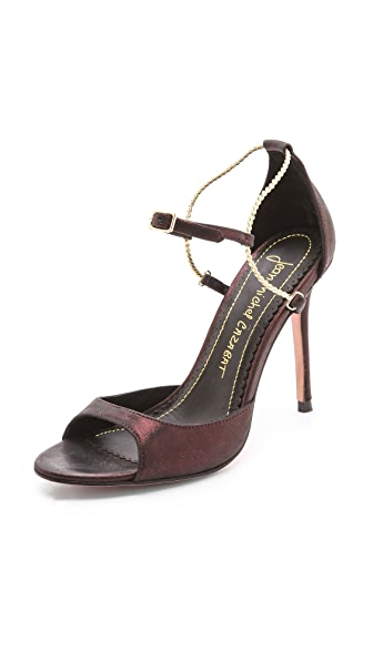 Jean-Michel Cazabat Olivia Ankle Strap Sandals