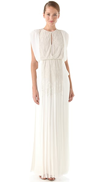 J. Mendel Embroidered Gown