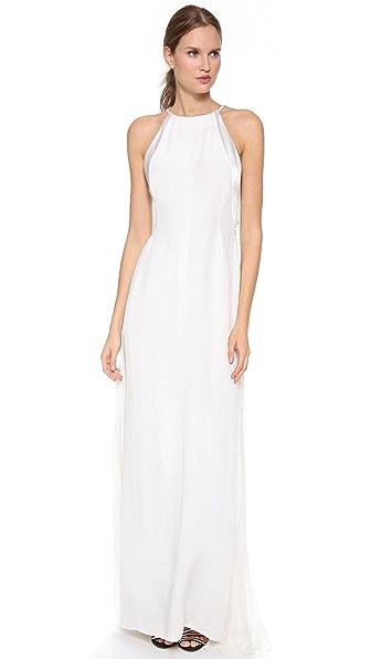 J. Mendel Francoise Colorblock Gown