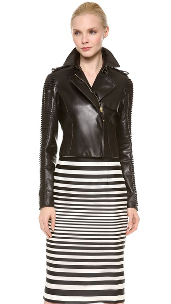J. Mendel Cropped Trench Jacket