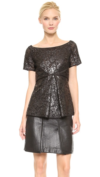 J. Mendel Short Sleeve Top