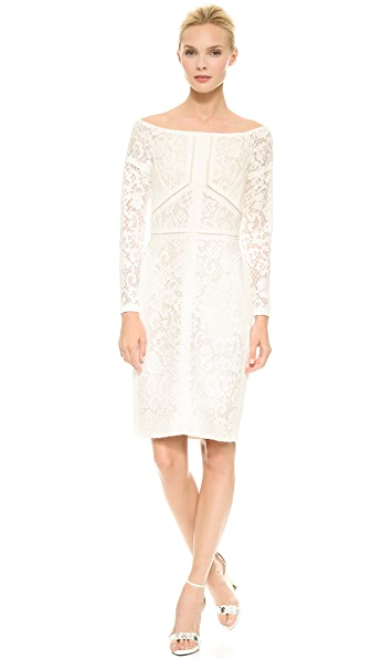 J. Mendel Off Shoulder Dress