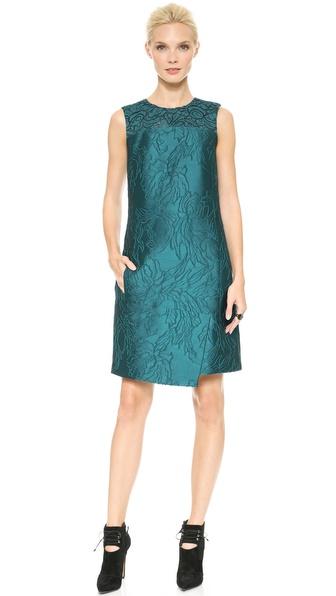 J. Mendel Asymmetrical Shift Dress