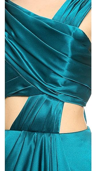J Mendel Струящаяся Ткань Платья