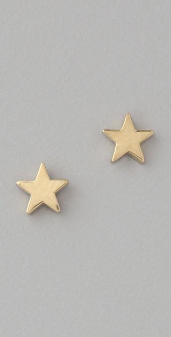 Jennifer Meyer Jewelry Star Studs
