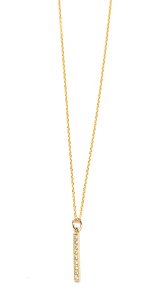 Jennifer Meyer Jewelry Diamond Pendant Necklace