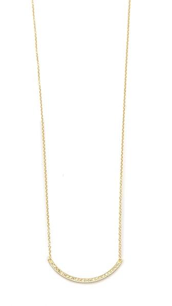 Jennifer Meyer Jewelry Diamond Stick Necklace