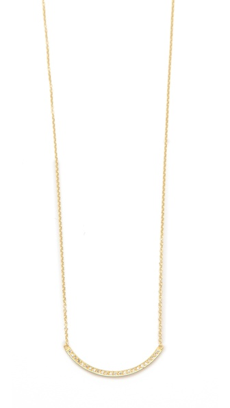 Jennifer Meyer Jewelry Diamond Stick Necklace
