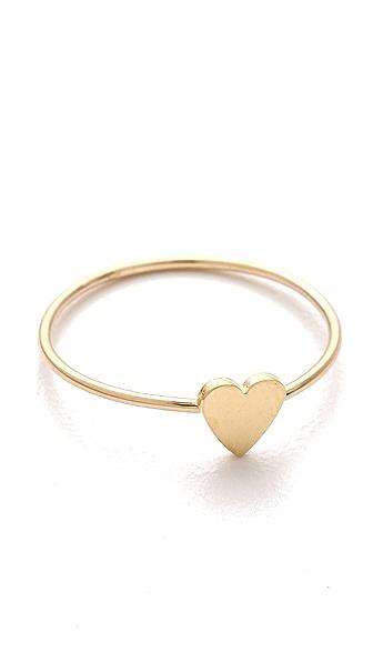 Jennifer Meyer Jewelry Mini Heart Ring