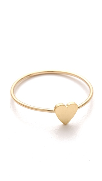 Jennifer Meyer Jewelry Mini Heart Ring