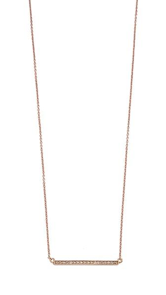 Jennifer Meyer Jewelry Pave Stick Necklace