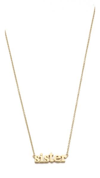 Jennifer Meyer Jewelry Sister Necklace