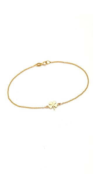 Jennifer Meyer Jewelry Mini Clover Bracelet