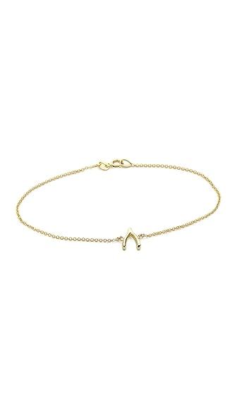 Jennifer Meyer Jewelry Wishbone Bracelet