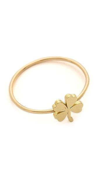 Jennifer Meyer Jewelry Mini Clover Ring