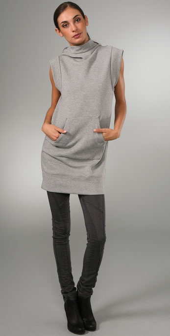 JNBY Future Sleeveless Dress with Hood