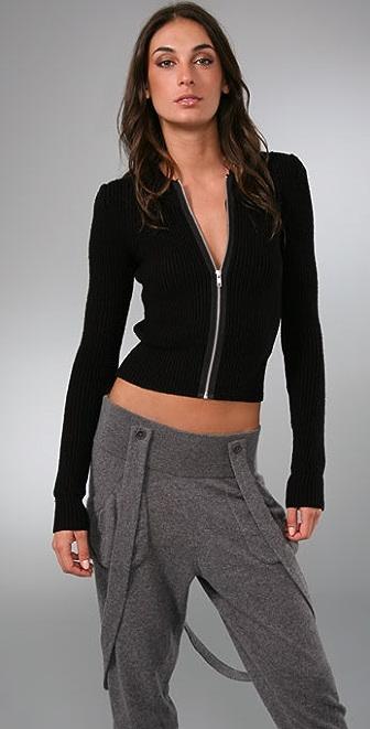 JNBY Future Zip Front Sweater