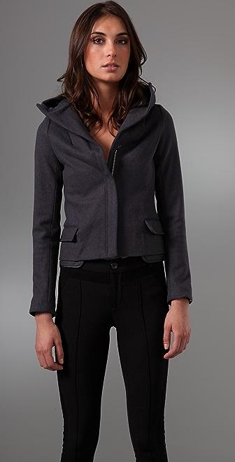 JNBY Elegant Rock Wool Jacket