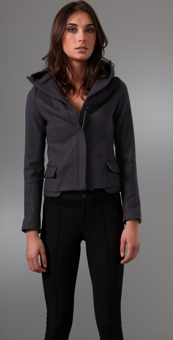 JNBY Elegant Rock Wool Jacket