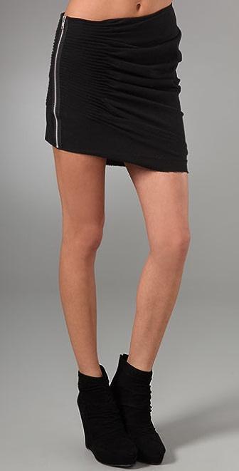 JNBY Wool Asymmetrical Skirt