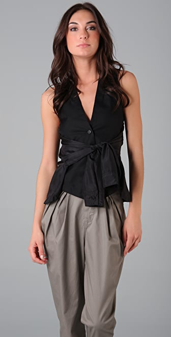 JNBY Vest with Sleeve Ties