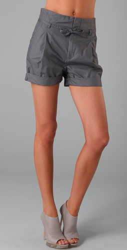 JNBY Paper Bag Waist Shorts
