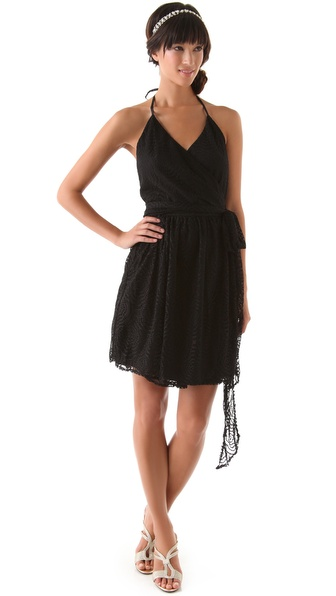 Kupi Joanna August haljinu online i raspordaja za kupiti Joanna August Short Lace Dress Black online