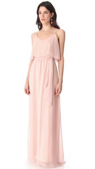 Joanna August 2 Tier Long Dress