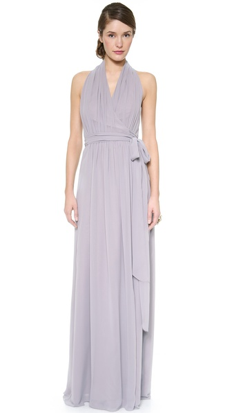 Joanna August Amber Halter Wrap Dress