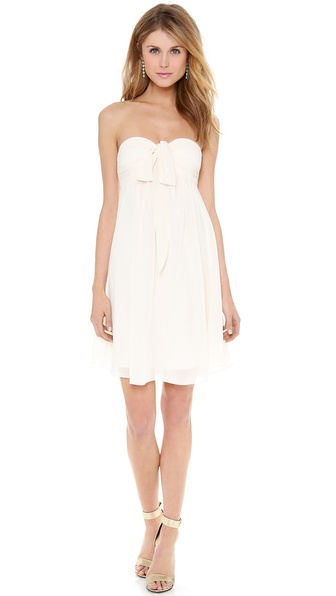 Joanna August Tatum Strapless Short Dress