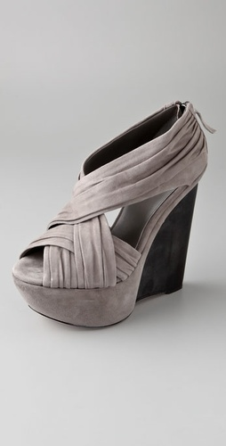 Joe's Jeans Princess Suede Platform Wedges