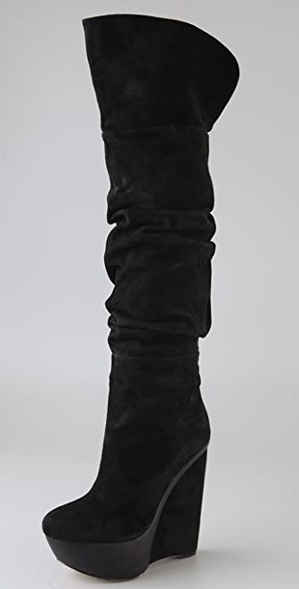 Joe's Jeans Pep Over the Knee Wedge Boots