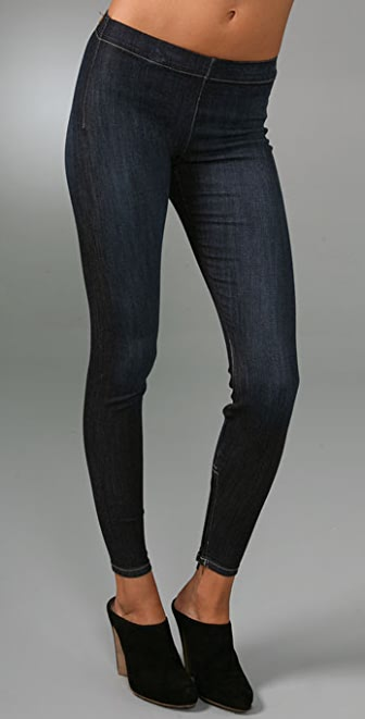 Joe's Jeans Zip Denim Leggings