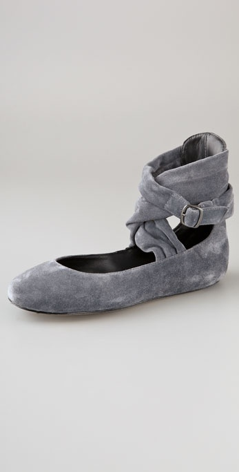 Joe's Jeans Sassy Suede Flats