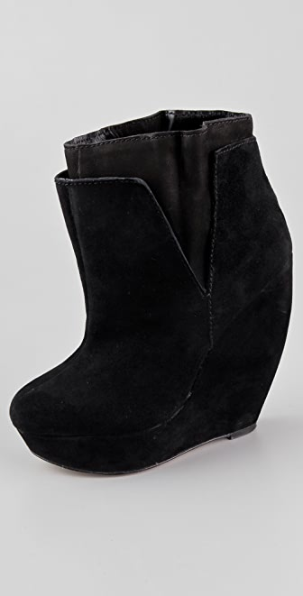 Joe's Jeans Gala II Wedge Booties