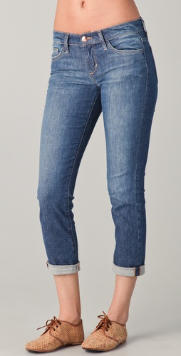 Joe's Jeans Rolled Crop Skinny Jeans