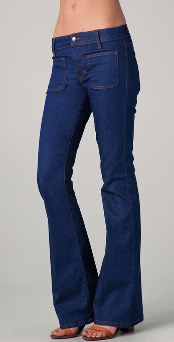 Joe's Jeans Patch Pocket Flare Jeans