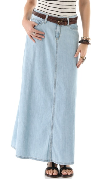 Joe's Jeans Bell Maxi Skirt