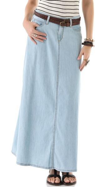 Joe's Jeans Bell Maxi Skirt