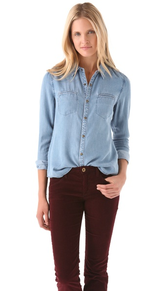Joe's Jeans Sidonie Denim Shirt