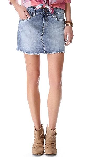 Joe's Jeans Vintage Reserve Cutoff Miniskirt