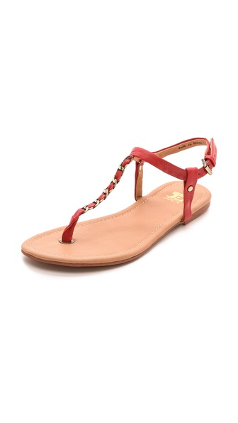 Kupi Joe's Jeans cipele online i raspordaja za kupiti A slender chain strap adds a cool, tactile touch to simple leather Joe's Jeans sandals. Buckle ankle strap. Rubber sole. Leather: Calfskin. Imported, China. This item cannot be gift boxed. Available sizes: 7.5,8,8.5